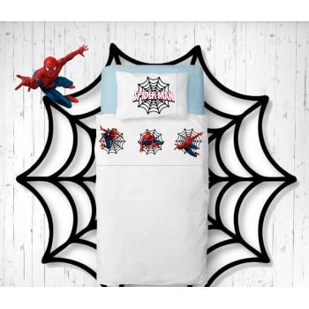 Jogo de lençóis Spider Man Flanela