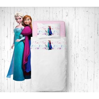 Jogo de lençóis Frozen Flanela